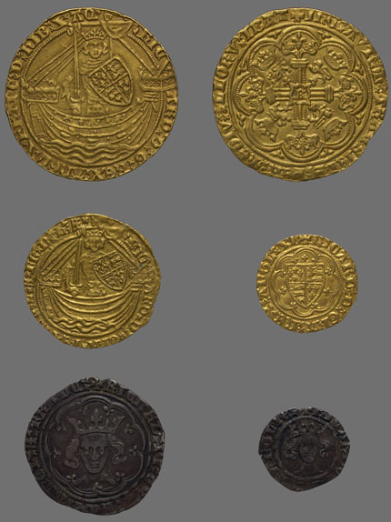 Coinage In The Time Of Richard Ii 1367 1400 Medieval Coins
